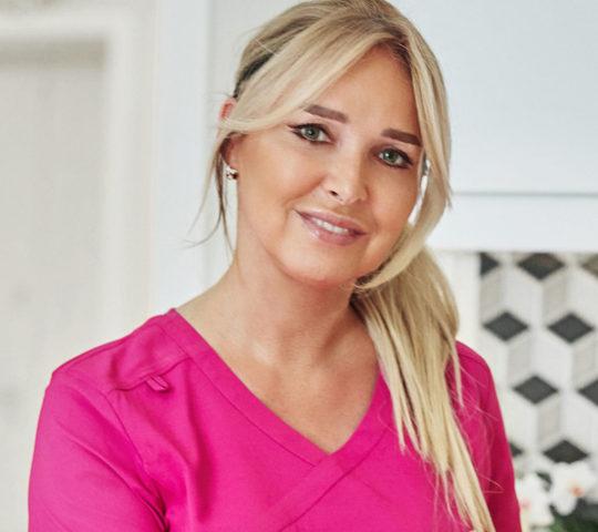 Agnieszka Barańska pielęgniarka klinika dr monika bujanowska
